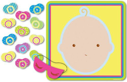 Pin the Binky on the Baby