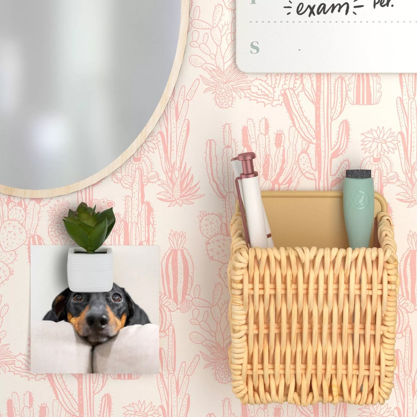 Locker Boho Chic Kit With Woven Cup