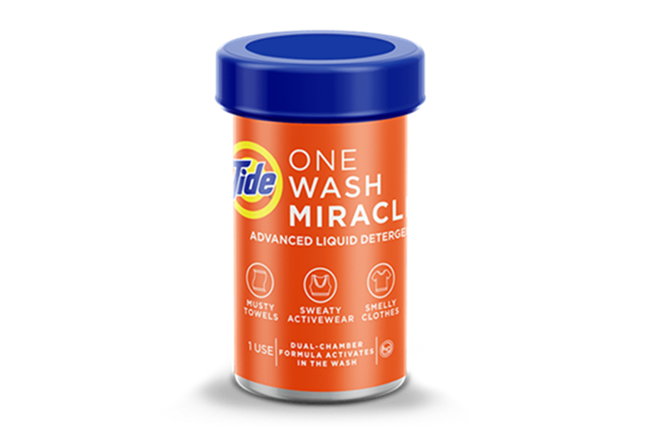 Tide One Wash Miracle