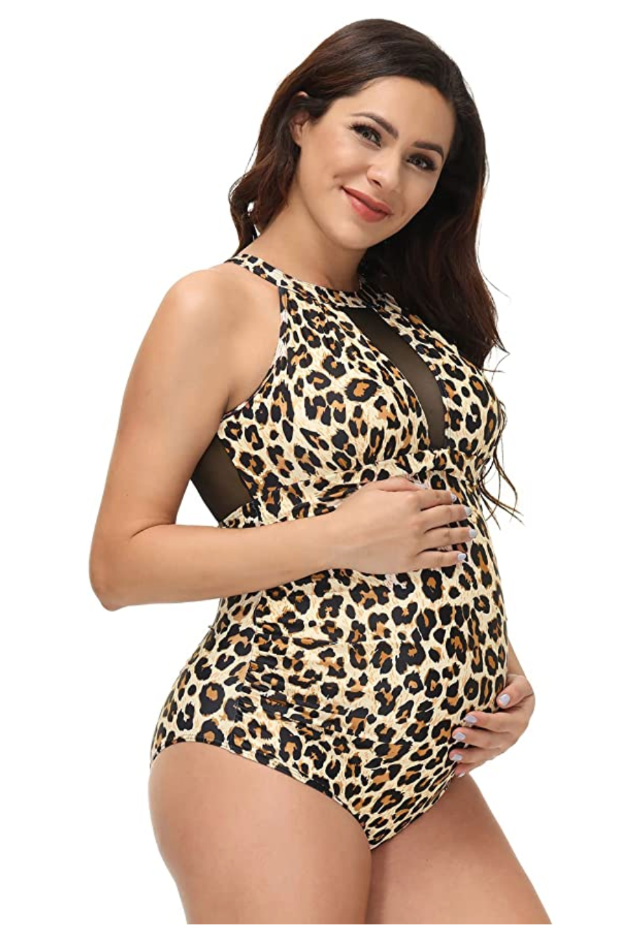 Mesh Inset Maternity Swimmers ($26.99)